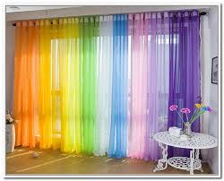 Olive Colored Curtains Multi Color Chic Style Girls Bedroom Curtains Stitching Room
