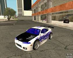 mitsubishi eclipse tuned mitsubishi eclipse rz 1998 for gta san andreas