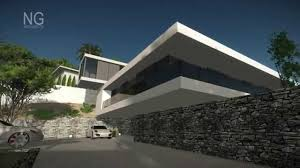 modern beach front villa project in spain opt b by ng architects