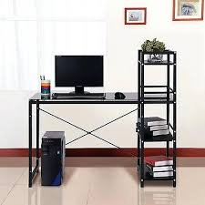 Computer Desk With Shelves Above Computer Desk With Shelves Shippies Co