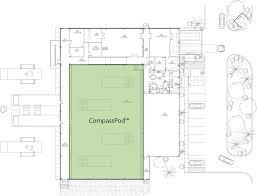 Data Center Floor Plan by Compasspod Compass Datacenters