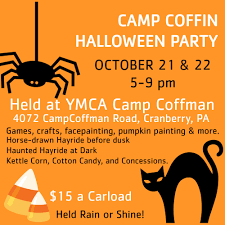 horse halloween party ymca to host family halloween party at camp coffman this weekend