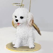 cockapoo figurine statue white