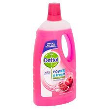dettol power fresh floor cleaner cherry pomegranate 1l from ocado