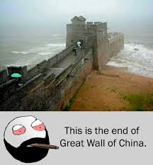 This Is The End Meme - dopl3r com memes this is the end of great wall of china