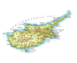 map of cyprus maps of cyprus detailed map of cyprus in tourist map