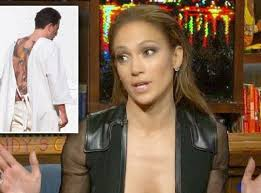 jennifer lopez mocks ben affleck u0027s back tattoo national enquirer