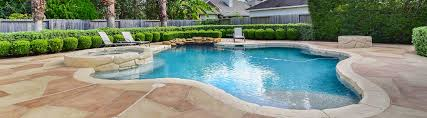 carvestone can cover concrete pea gravel cool deck and brick pool