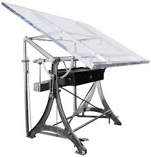 Drafting Table Toronto Albert Nestler Drafting Table With Acrylic Top Old Meets New