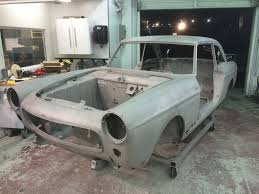 peugeot 404 coupe follow mike tippett u0027s 1966 coupe renovation peugeot 404 north