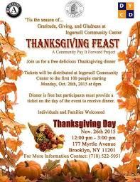 free thanksgiving day meals in new york city council