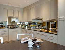 mirror backsplash in kitchen kitchen encounters md award winning kitchen and bath design