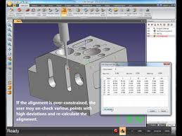 cad alignment in cmm manager youtube