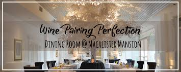 fine dining room with chef johnson wong at macalister mansion