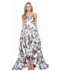 bariano dresses bariano gene strapless gown bluefly