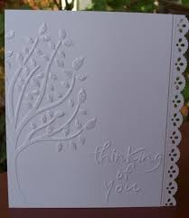 198 best embossed cards images on embossed cards