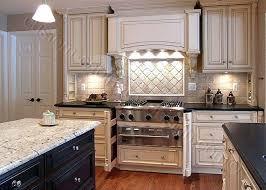 Painted Glazed Kitchen Cabinets White Glazed Kitchen Cabinets Pictures Antique Chocolate Glaze