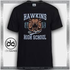 graphic shirts things hawkins high school tigers