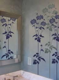 Bathroom Wall Stencil Ideas 26 Best Floor Ideas Images On Pinterest Wall Stenciling Wall
