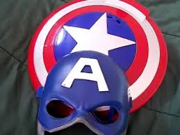 captain america shield light target captain america disk launching shield and mask review youtube