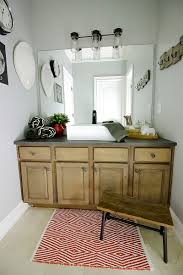 Do You Paint Ceiling Or Walls First by Kids Bathroom Sink Makeover Bower Power Bloglovin U0027