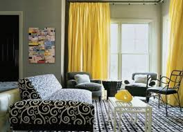 yellow livingroom living room trendy living room ideas with yellow fabric curtain
