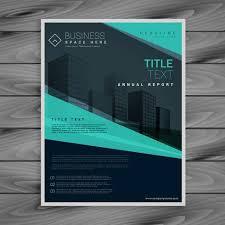 professional brochure design templates blue professional brochure design template free vector