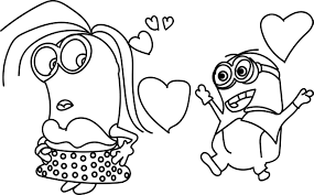 minions coloring page wecoloringpage