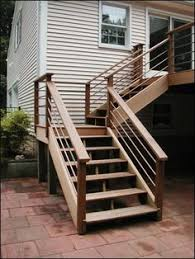 Porch Steps Handrail Deck Steps Simplified Building Deck Steps Made Simple Deck Stairs