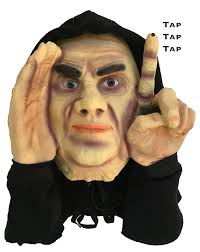 amazon com halloween decoration scary peeper tapping peeper