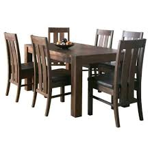 Modern Wooden Dining Sets Kitchen Amusing 6 Seat Kitchen Table 6 Person Round Dining Table