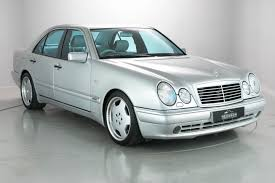 mercedes benz e55 amg saloon 1999