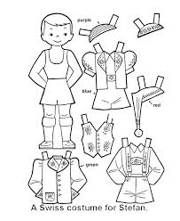 7 boys clothes images paper dolls coloring