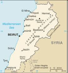 lebanon on the map map of lebanon lebanon mountains refers to mount lebanon