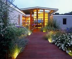 Mid Century Modern Landscaping by Mid Century Modern Walkway Front Yard Walkway Lightingmodern