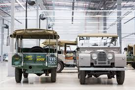 jaguar land rover defender jaguar land rover u0027s classic works facility