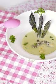 cuisiner asperges vertes fraiches crème d asperges vertes et courgette aux morilles épicétout la