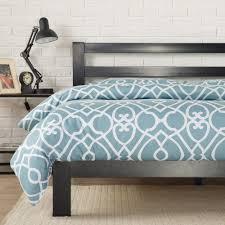 Platform Bed Twin Black Zinus Modern Studio Black Twin Platform Bed Hd Asmph 20t The