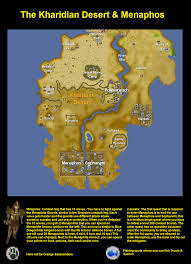 Runescape World Map by The Kharidian Desert U0026 Menaphos Finished 2007scape