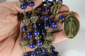 seven sorrows rosary miraculous seven sorrows rosary 7 decades of 7 lapis bronze