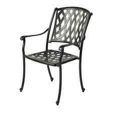 Armchair Position Bramblecrest Etna Stacking Aluminium Armchair In Black Metal