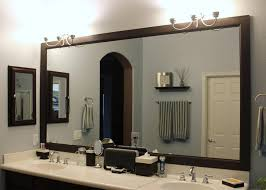 Bathroom Mirror With Clock Bathroom Surprising Bathroom Mirror Ideas Photo Design On Wall