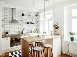 elegant small white kitchen ideas for home decor concept with