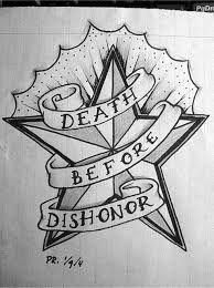 death before dishonor by flim on deviantart