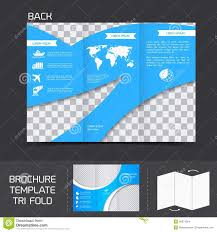brochure template tri fold stock vector image 40874554