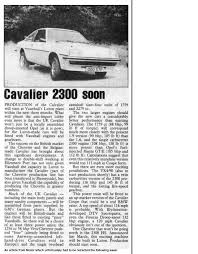 vauxhall u car cavalier mk1