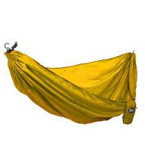 rec yellow hammock