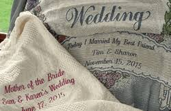 personalized wedding blankets personalized wedding throw blankets embroidered wedding marriage