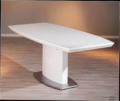 Table Ronde Blanche Avec Rallonge Pied Central by Table Rectangulaire Avec Rallonge Et Pied Central Table De Salle