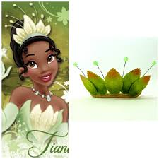 Princess And The Frog Tiara Princess Tiana Tiaragreen Princess And The Frog Princess